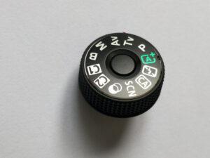 Canon 80D mode dial